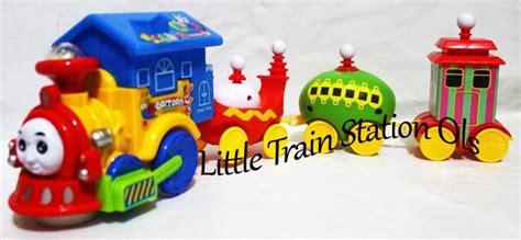 New Sale Mainan Anak Kereta And Friends 360 Rotary mainan kereta olslittletrainstation