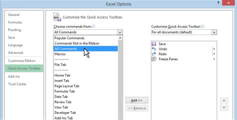quick layout command word 2013 how to customize the quick access toolbar in office 2013