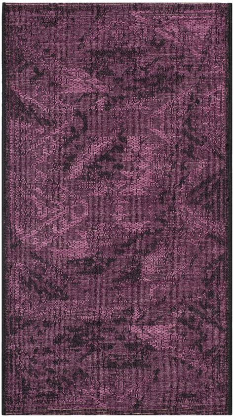 purple and black rug black purple safavieh power loomed palazzo area rugs pal122 56c7 ebay