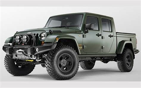 Jeep Gladiator 2018 Jeep Gladiator Price Release Date And Specs Cars