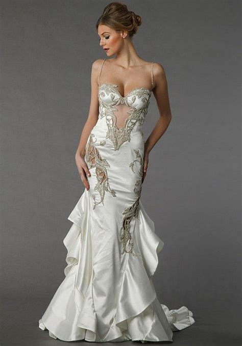wedding dresses by pnina tornai pnina tornai for kleinfeld 4361 wedding dress the knot
