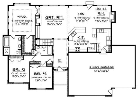 Ranch Homes Floor Plans by Fresh Open Floor Plans For Ranch Homes New Home Plans Design