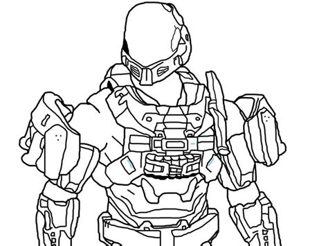 Halo 6 Coloring Pages by And Print These Halo 3 Odst Coloring Pages For