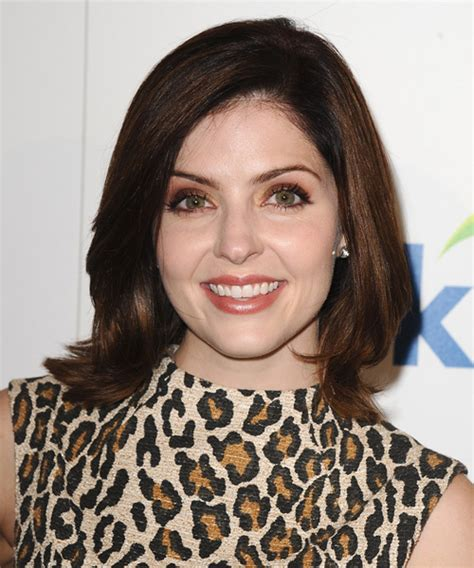 jen lilley hairstyle jen lilley medium straight formal hairstyle