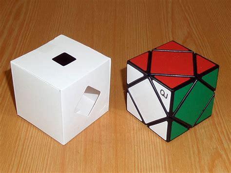 Qj Skewb skewb qj black white puzzle shop cutcorner