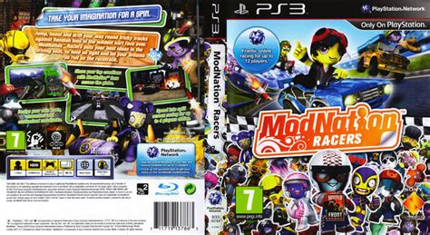 Cd Modnation Racers racers 2009 thai covers covers resource