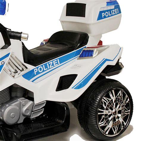 Ebay Elektro Motorrad by Polizei Sticker In Deutsch Elektro Motorrad Kindermotorrad