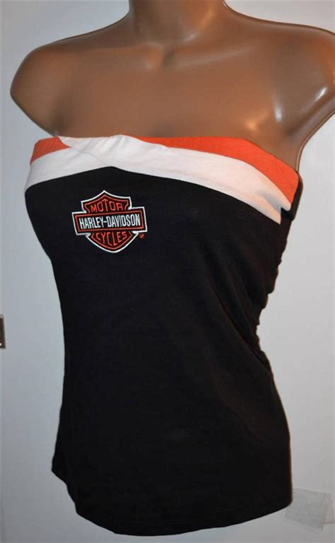 nwt harley davidson removable straps tank top shirt