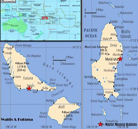 wallis and futuna map wallis and futuna map and wallis and futuna satellite image