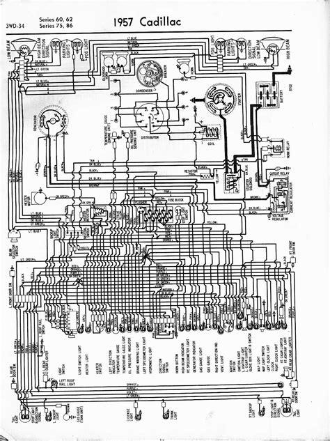Cadillac Wiring Diagrams: 1957-1965
