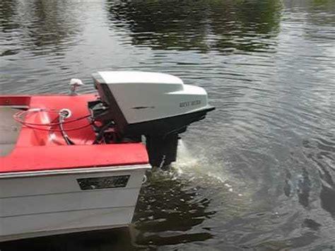west bend boat motor 1959 west bend shark 35 horsepower outboard motor dock