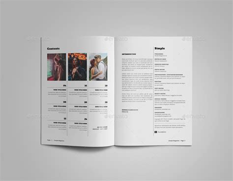 simple magazine template a5 simple magazine template by alhaytar graphicriver