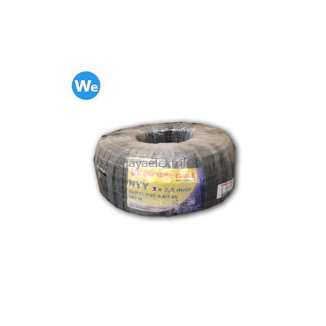 Dijamin Kabel Listrik Supreme Kawat 2 X 2 5 Nym 50 Meter kabel supreme nyy 3 x 2 5mm