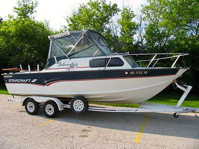 22 ft aluminum fishing boat for sale 22 starcraft boats for sale