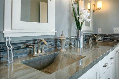 Living Countertops by Bathroom Concrete Sinks Modern Bathroom Sinks