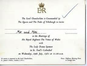Celebrity Wedding Invitation Watcher Prince William And