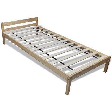 Matras Bed vidaxl nl bed dennenhout 200 x 90 cm met matras