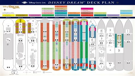 cruise ship floor plans disney dream cruise ship deck plans disney dream cruise