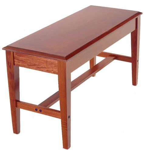 piano benches piano bench duet piano bench mahogany j w pepper sheet music