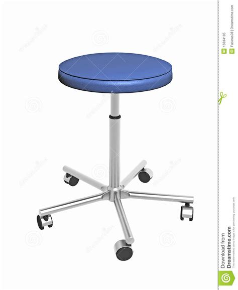 Adjustable Stool With Wheels by Royalty Free Stock Photo Adjustable Stool With Wheels
