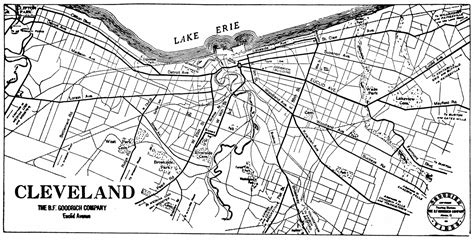 map of cleveland ohio ohio city maps at americanroads us
