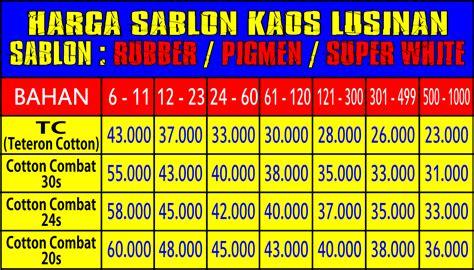 Kaos Fullprint Umakuka Harga Promo 1 pusat kaos sablon bandung harga kaos kaos promosi murah jual supplier distro seragam polo