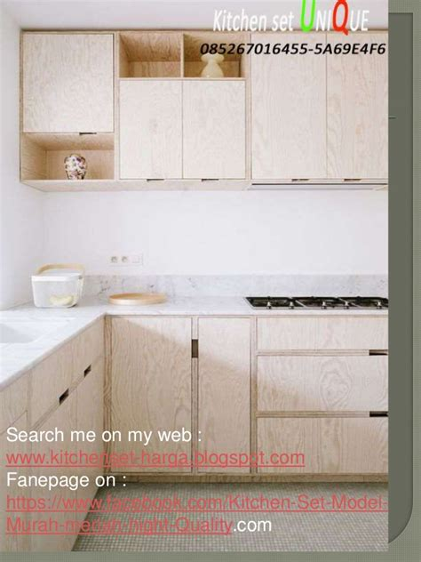 Kitchen Set Tas harga kitchen set kabinet atas kitchen set minimalis