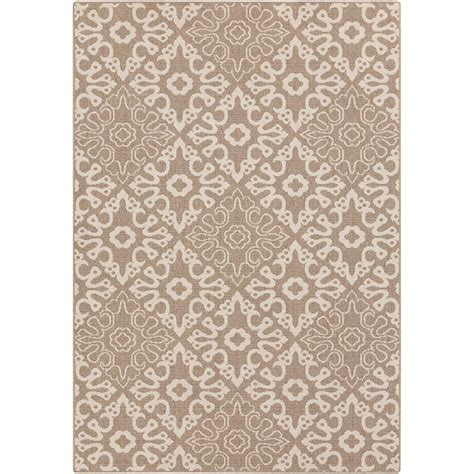 Artistic Weavers Booroomba Taupe 5 Ft 3 In X 7 Ft 6 In Weavers Outdoor Rugs