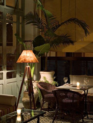 british colonial style   warm glow   lamp