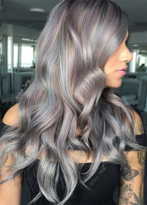 gray highlifhts hair color pics 85 silver hair color ideas and tips for dyeing