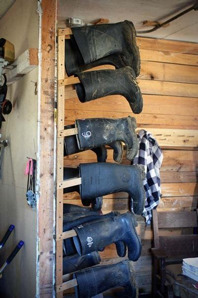 tack room shoes for muddy boots idea house barn and mud rooms