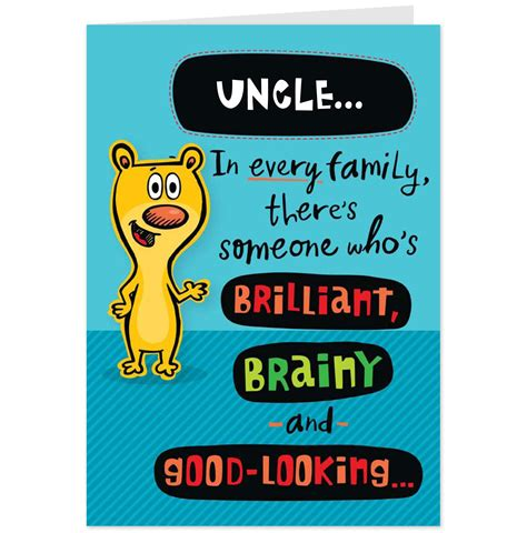 printable birthday cards uncle funny uncle quotes and sayings quotesgram