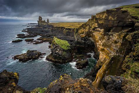 rugged coastline rugged coastline of snaefellsjoekull national park flickr