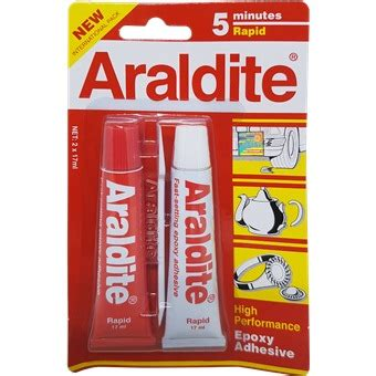 Industrial Kitchen Faucets Araldite Rapid 5 Minutes Red Adhesives Amp Glues Horme