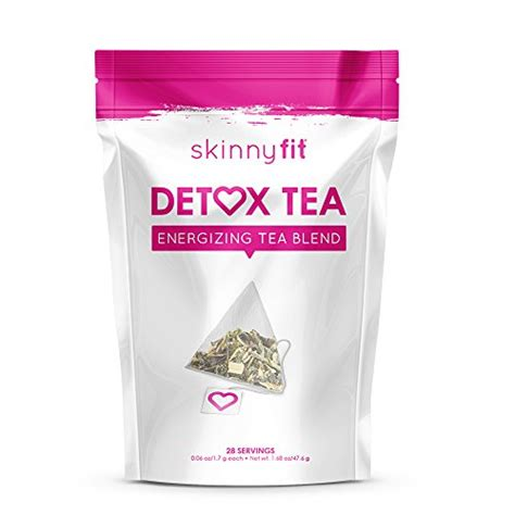 Fit Tea 28 Day Detox Uk by Skinnyfit Detox Accelerate Loss Fight Bloating