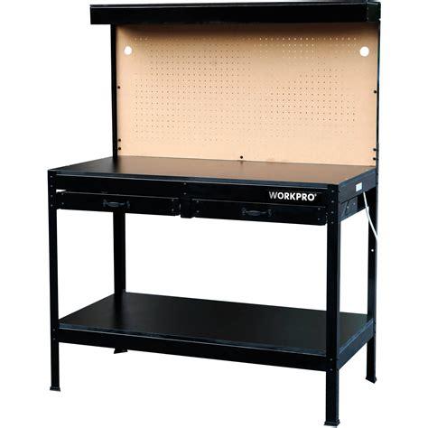 light duty work exles multi purpose heavy duty workbench with work light by