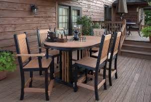 High Table Patio Furniture Patio High Top Patio Table Home Interior Design
