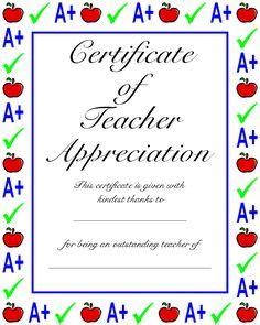 classroom certificates templates 1000 images about appreciation on
