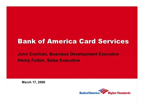 bank of america at the goldman sachs conference