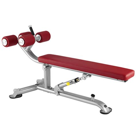 tr on a bench banc musculation bh hipower tr series crunch bench l835