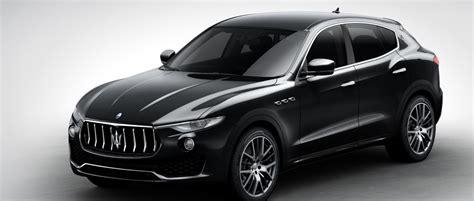 Maserati Levante Suv Black Maserati Levante Suv