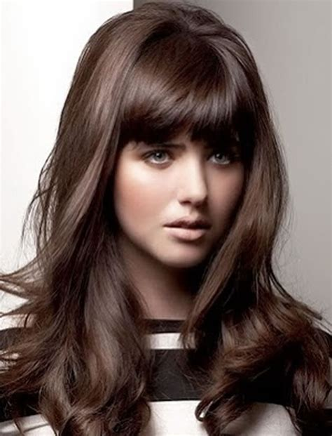hairstyles bangs 100 cute inspiration hairstyles with bangs for long round