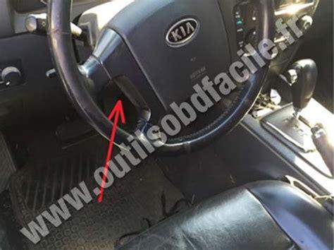 Kia Diagnostic Kia Optima Obd Ii Port Location Get Free Image About