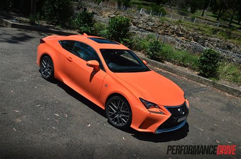 lexus rc f sport 2015 lexus rc 350 f sport review video performancedrive