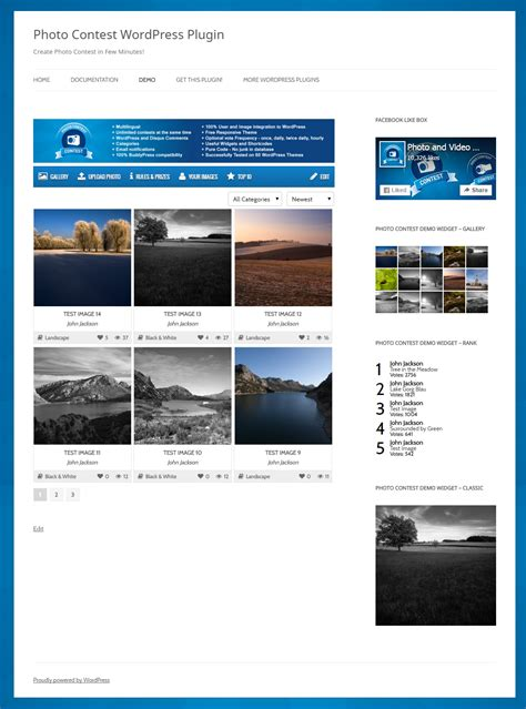 photo contest template photo contest terms and conditions template image