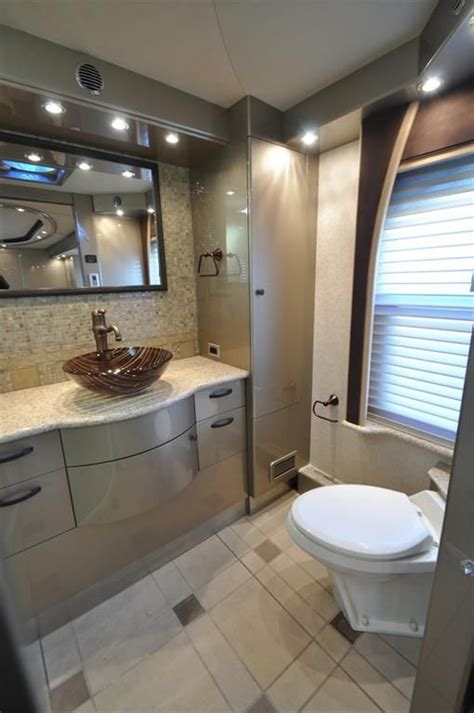 Bathroom Storage Ideas For Small Spaces by Luxury Rv Bathroom A Must Renocamper Pinterest