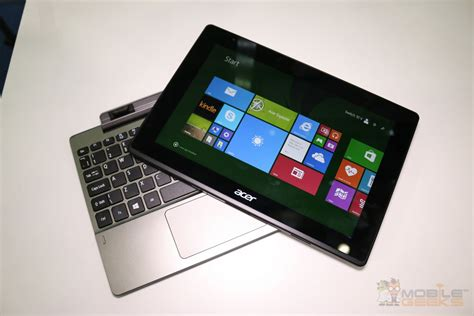 Acer Switch 10 acer asipre switch 10 v on a new 2 in 1 tablet with