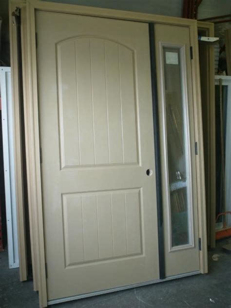 6 panel front door with sidelights 36 quot lho 2x6 entry door sidelight system 2 panel