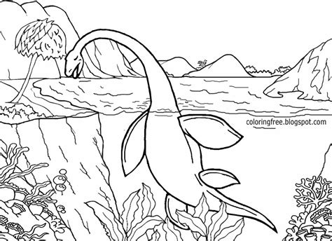coloring page dinosaur scene dinosaur scene coloring pages kid wallpapers and coloring