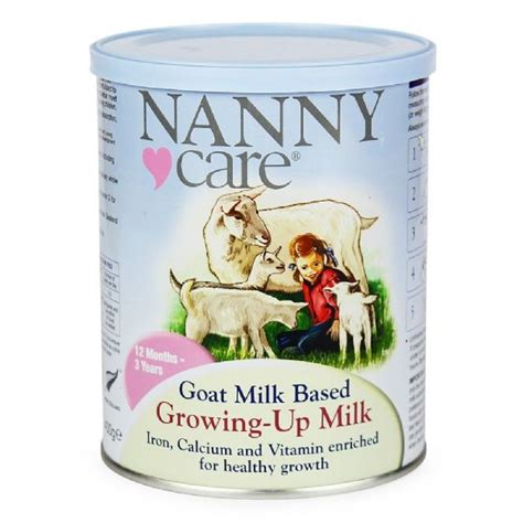 nanny care goats milk growing up milk stage 3 900g